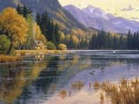 Silver Lake Getaway Fine-Art Print