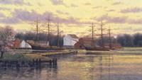 Mystic Harbor Fine-Art Print