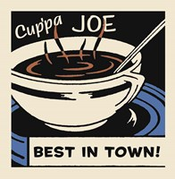 Cup'Pa Joe Best In Town Fine-Art Print