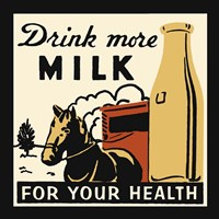 Drink More Milk For Your Health Fine-Art Print