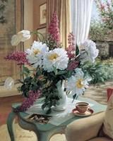 Tea At Marguerites Fine-Art Print