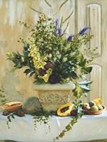 Green Floral Fine-Art Print