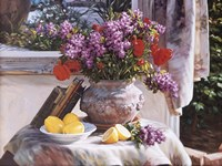 Lilacs And Lemons Fine-Art Print