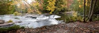 Bond Falls Panorama in Fall, Bruce Crossing, Michigan 09 Fine-Art Print