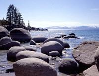 Sand Harbor Beach, Lake Tahoe, Nevada 88 Fine-Art Print