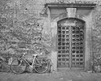 Bicycle & Door, Yverdon, Switzerland 04 Fine-Art Print