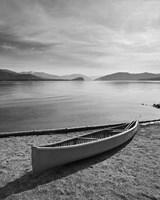Lone Boat Ashore, Canada 99 Fine-Art Print