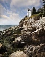 Bass Harbor Head Lighthouse & Foothill Fine-Art Print