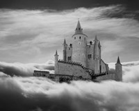 Castle In The Clouds, Segovia, Spain 11 Fine-Art Print