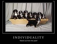 Individuality Motivational Fine-Art Print