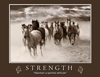 Strength Motivational Fine-Art Print