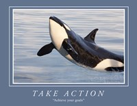 Take Action Motivational Fine-Art Print