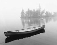 Lone Canoe, Liverpool, Nova Scotia, Canada 04 Fine-Art Print