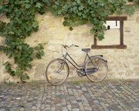 Bicycle, Turckheim, France 99 Fine-Art Print