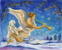 Christmas Angel - Joy to the World Fine-Art Print