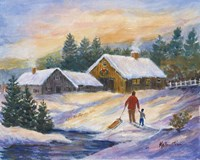 After the Sleigh Ride Fine-Art Print