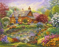 Summer Cottage Fine-Art Print