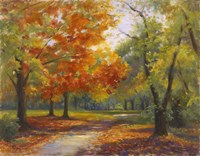 Autumn Path Fine-Art Print