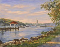 Before Sunset At Northport Fine-Art Print