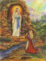 Our Lady Of Lourdes Fine-Art Print