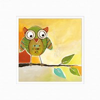 Owl Festival Square I Fine-Art Print