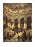 Le Couloir L'Opera Fine-Art Print