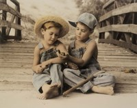 Bayou Boys Fine-Art Print
