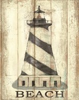 Light House Stripe Fine-Art Print