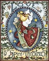 Love Is The Spirit Of Christmas Fine-Art Print