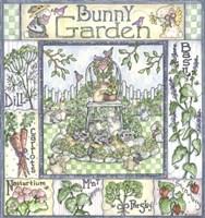 Bunny Garden Fine-Art Print