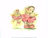 Ballerina Bears, I Fine-Art Print