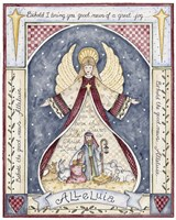 Alleluia Angel Nativity Fine-Art Print