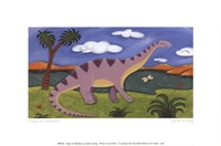 Dippy the Diplodocus Fine-Art Print