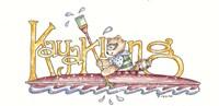 Kayaking Raccoon Fine-Art Print