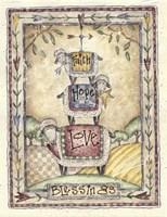 Faith, Hope, Love, Blessings Fine-Art Print
