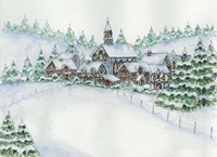 Country Setting Winter Fine-Art Print