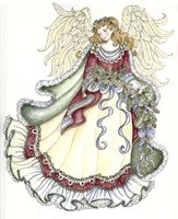 Angel With Candle Fine-Art Print