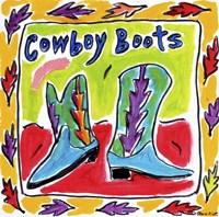 Cowboy Boots Fine-Art Print