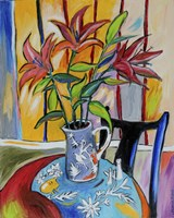 Lilies On The Table Fine-Art Print
