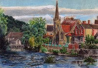 Llangollen Methodist Church Wales UK Fine-Art Print