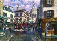 Montmartre A Break In The Storm Fine-Art Print