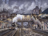 Night Train To Edinbourough Fine-Art Print