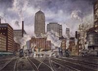 20Th Century Ltd., Leaving Chicago Fine-Art Print
