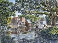 The Excursion Boat Fine-Art Print