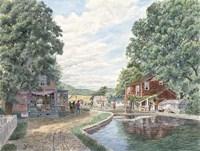 Summertime, Morris Canal Fine-Art Print