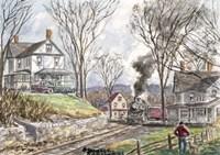 Fall Train Fine-Art Print