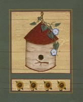 Birch Birdhouse Fine-Art Print