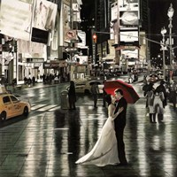 Romance in New York Fine-Art Print