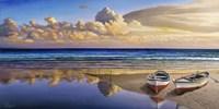 Barche sulla Battigia I Fine-Art Print