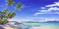 Spiaggia Tropicale Fine-Art Print